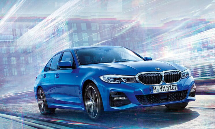 BMW 3er 2019 Blau