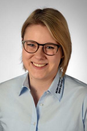 Charleen Hantl, BMW Verkaufsassistentin