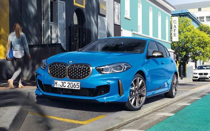 BMW 1er Blau