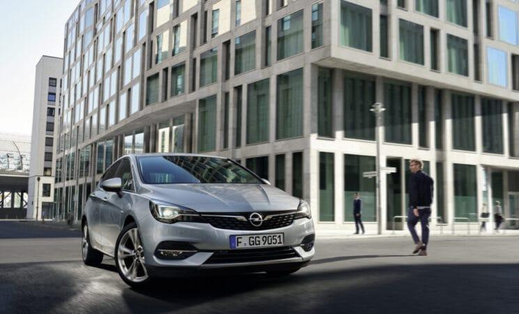 Opel Astra Gewerbekundenangebot