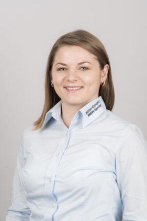 Natalja Hepting, Serviceassistentin