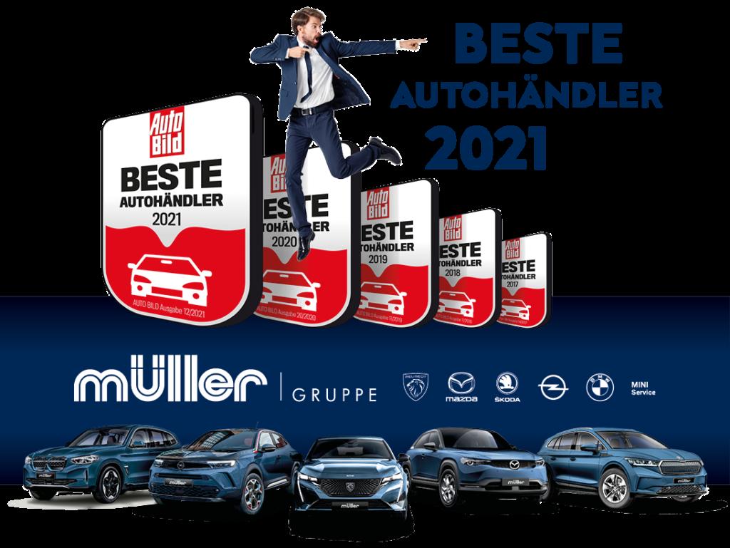 Beste Autohändler 2021   Müller Gruppe gehört erneut dazu!